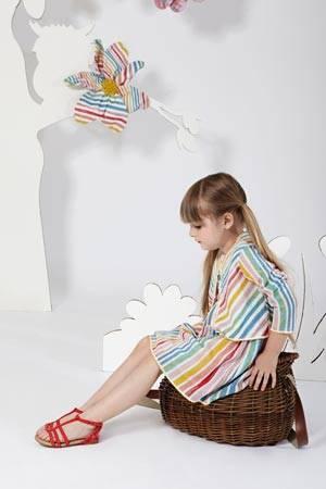 MISSONI girls striped dress spring summer 2014
