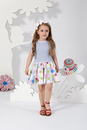 MISSONI girls flower dress ss14