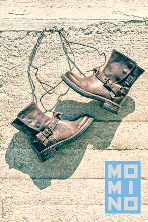 MOMINO leather boys boots fw13