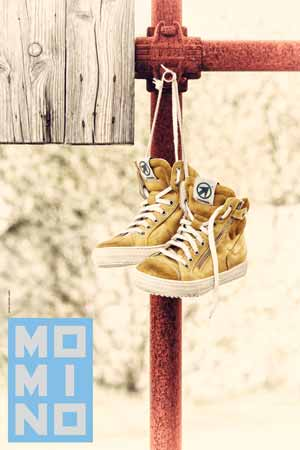 MOMINO gold trainers fw13