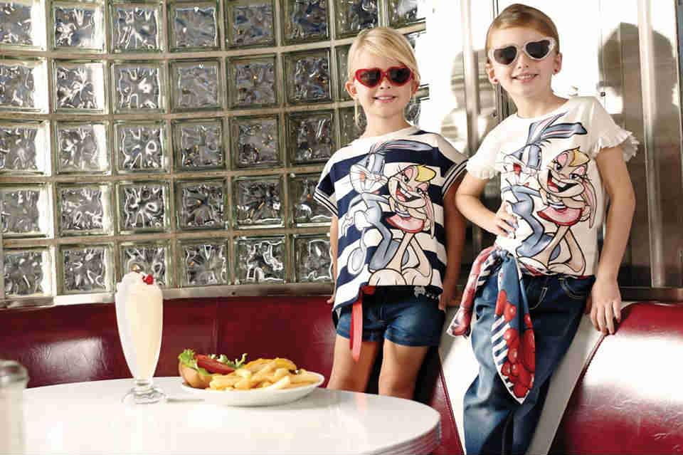 Monnalisa Girls Bunny Tshirts