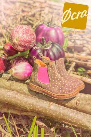 OCRA girls brown boots