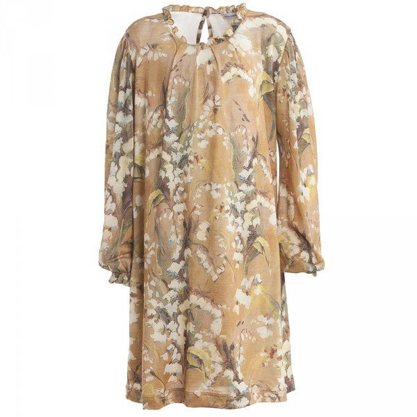 Dolce Gabbana Girls Floral Dress