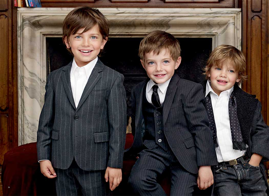 dolce & Gabbana boys suits winter 2013