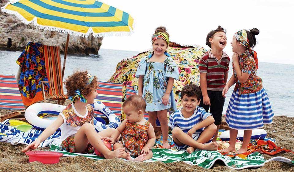 Dolce & Gabbana kids beach summer 2013