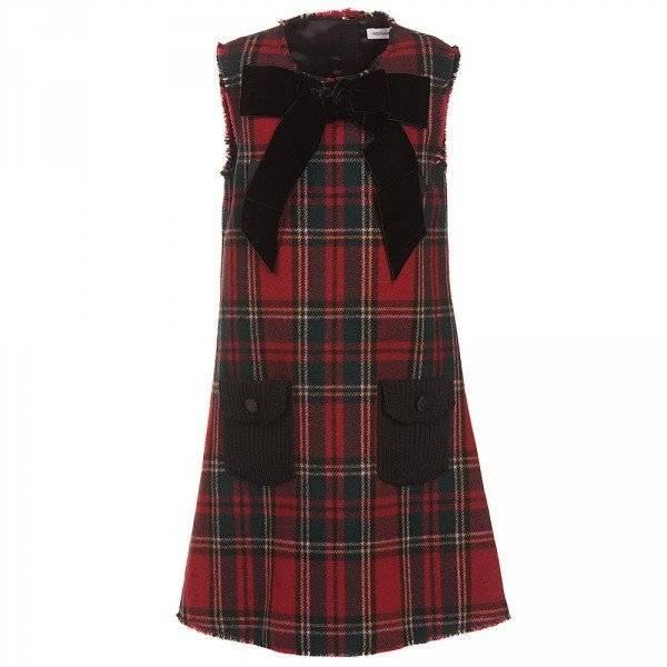 Dolce Gabbana Girls Tartan Dress