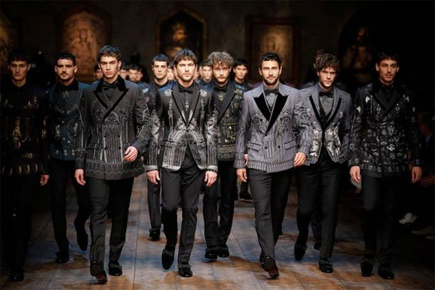 dolce and gabbana mens fall winter 2014 collection