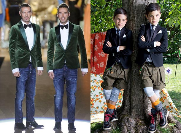 Dsquared2 Kids Boys Spring Summer 2014 Boys Suits