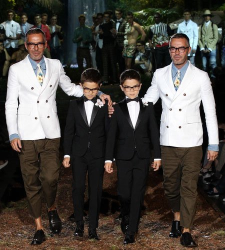 Dsquared2 Kids Boys Spring Summer 2014 Launch
