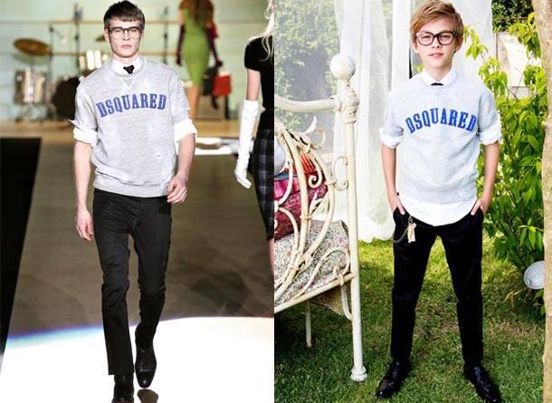 Dsquared2 Kids Boys Spring Summer 2014 Sweatshirt