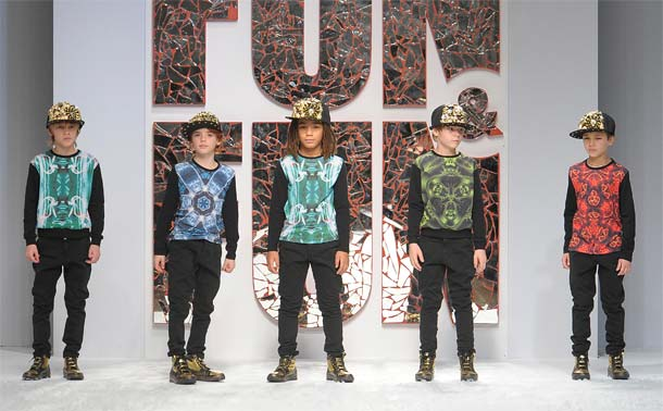 fun&fun boys fw 2014-2015 collection runway show