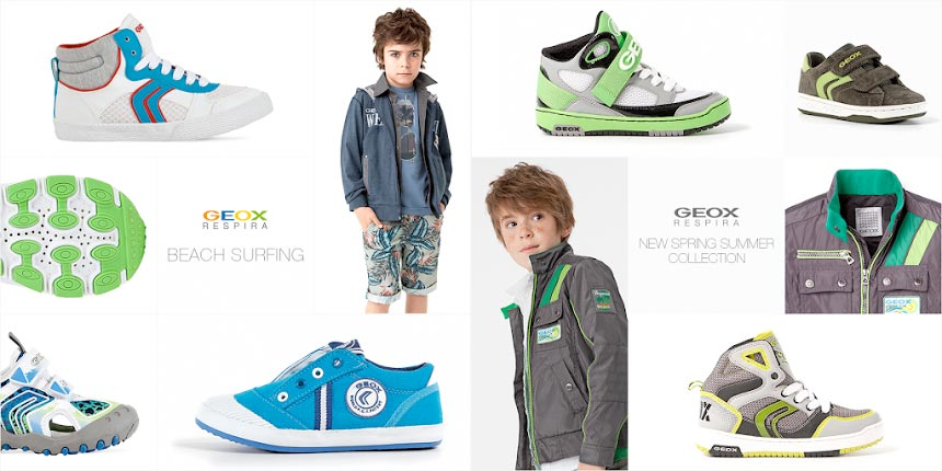 geox boys shoes collection