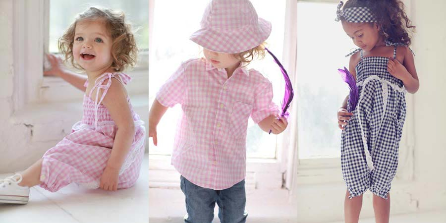 gigi and co girls gingham clothes