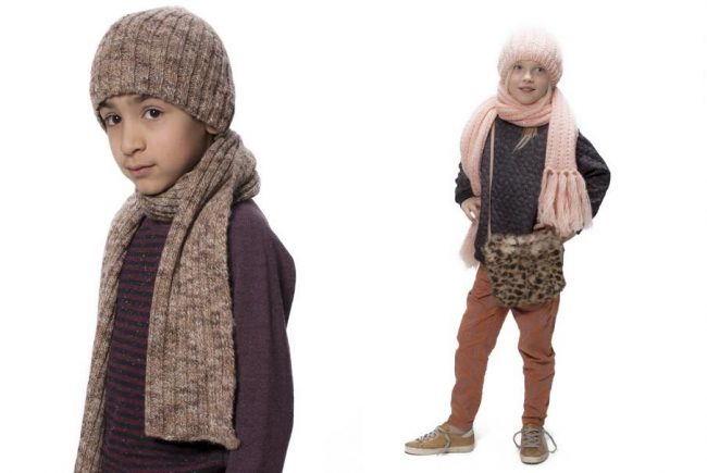 gold kids winter clothes