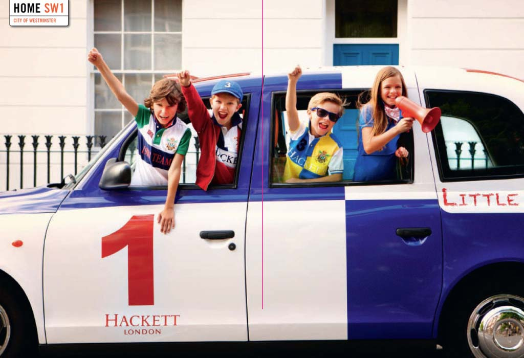 Hackett London Designer Children's Clothing from the UK