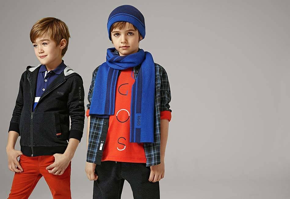 hugo boss boys clothes