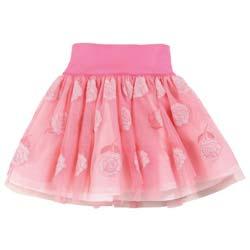i pinco pallino pink tulle skirt