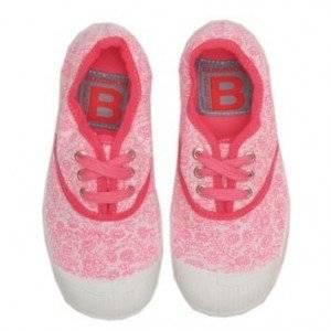 ilovegorgeous Floral Bensimon Plimsolls in Pink