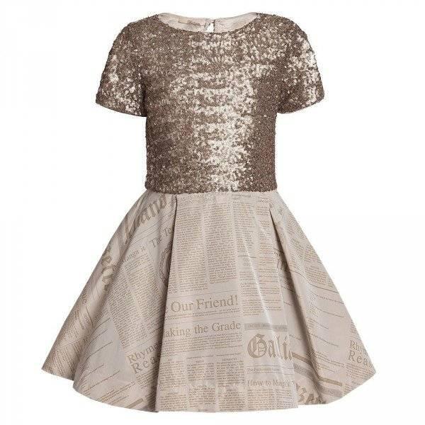 john galliano gazette dress