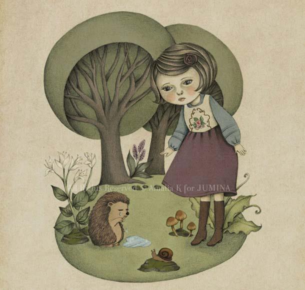 jumina illustration fall winter 2013