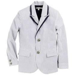 junior gaultier Pin striped suit jacket