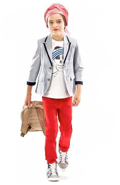 junior gaultier pirate pintriped blazer outfit