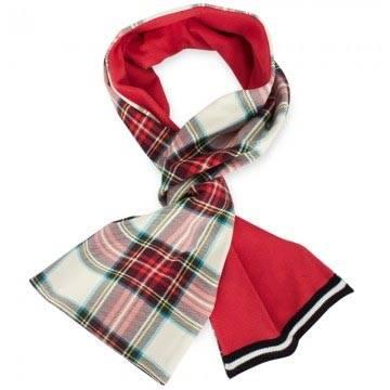 junior gaultier tartan scarff
