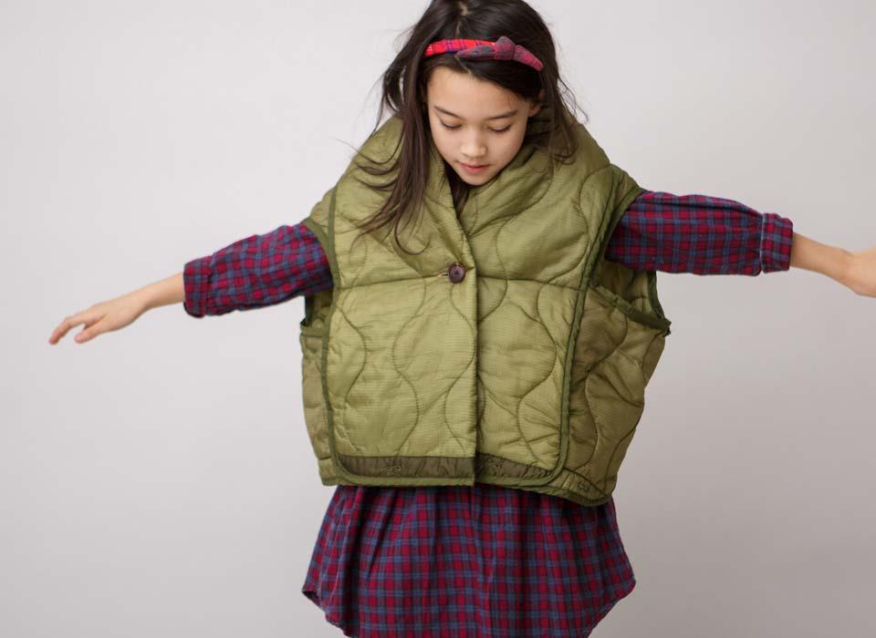 kallio girls vintage army jacket