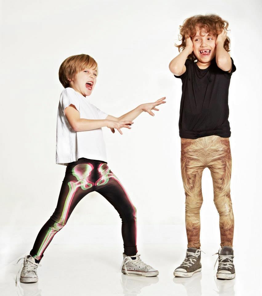 la loi boys xray legging