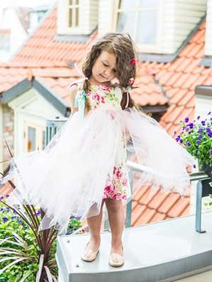 leny tomy factory girls tule dress