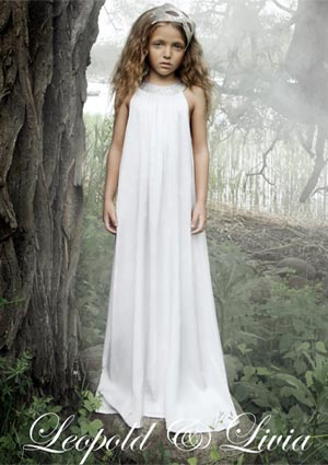 leopold and livia spring summer 2014 white dress