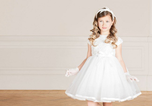 Lesy luxury girls dresses from Florence, Italy