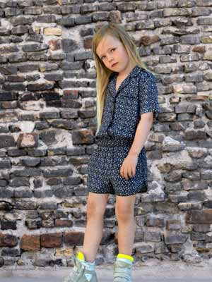 little remix girls black outfit