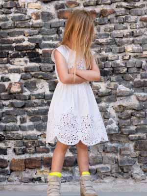little remix white dress