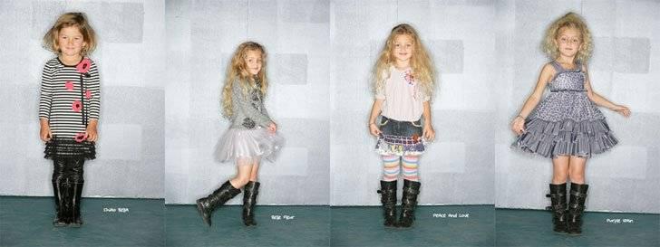 little mass girls clothes