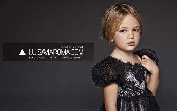 luis via roma girls clothes