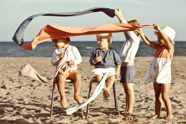 Mon Marcel Kids Beach Wear