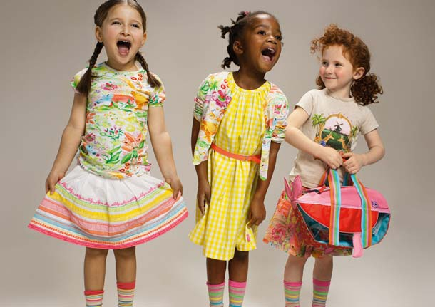 OILILY girls spring summer 2013 collection