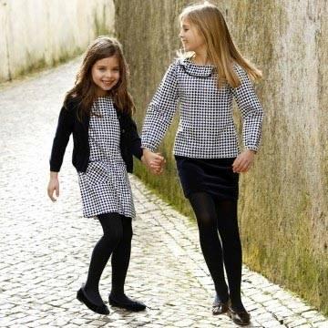 Oscar de la Renta Diamond Shift girls outfit