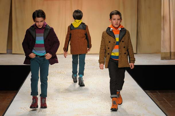 Quis Quis Boys Striped Sweaters FW14
