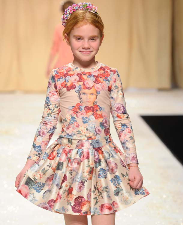 Quis Quis Girls flower dress FW14
