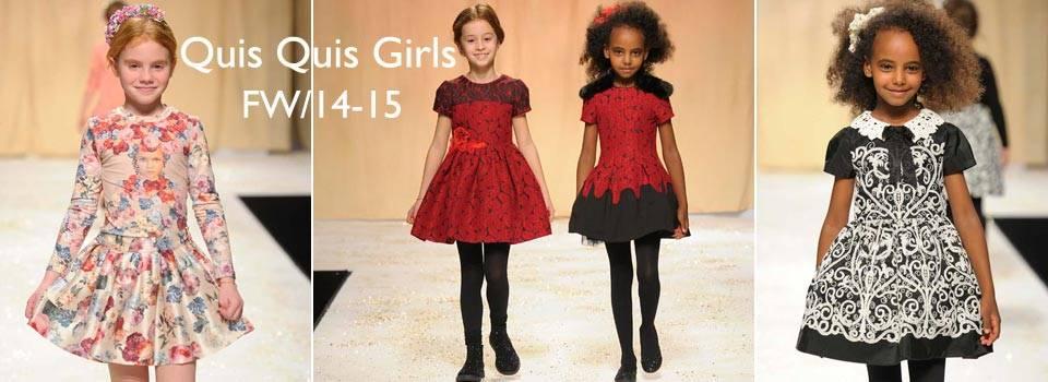 Quis Quis Girls Fall Winter 2014 fashion show