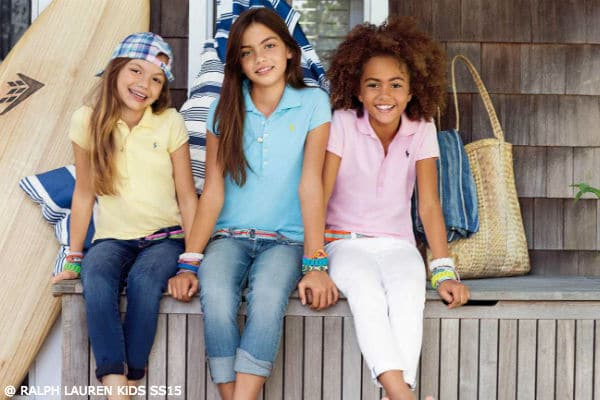 Ralph Lauren Girls Spring 2015 Collection