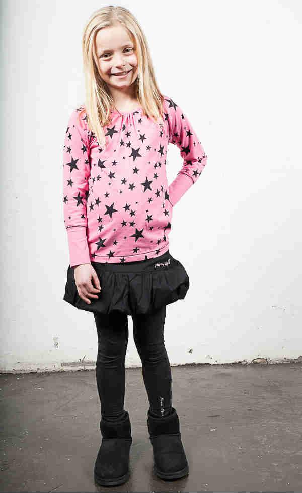 nova star girl pink shirt