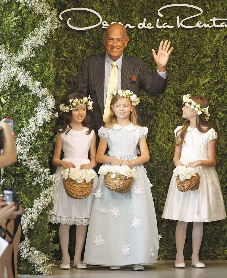 oscar de la renta kids flower girls