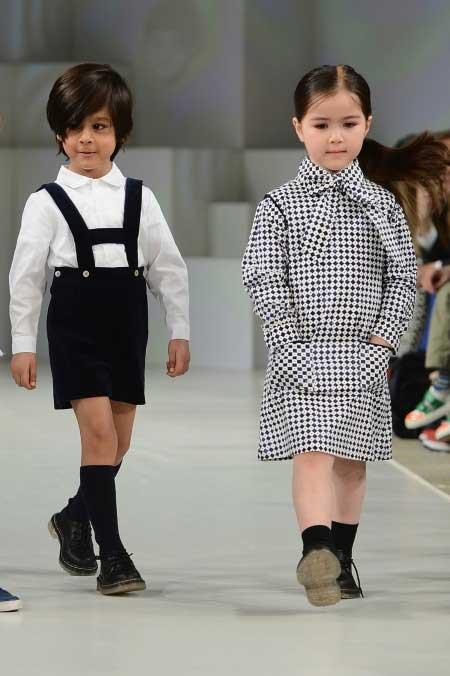 oscar de la renta kids fashion show