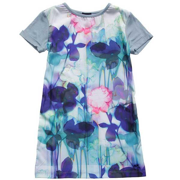 paul smith junior Green Viscose Floral Print Dress