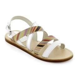paul smith junior girls leather sandal