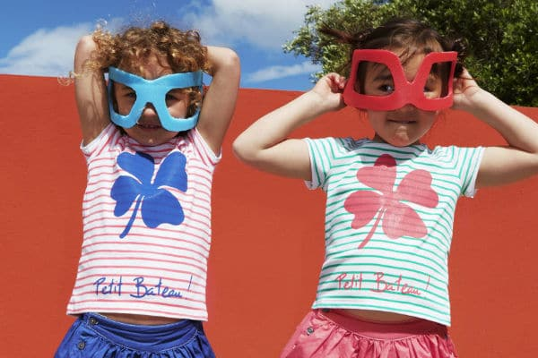 petit bateau girls clothing from france