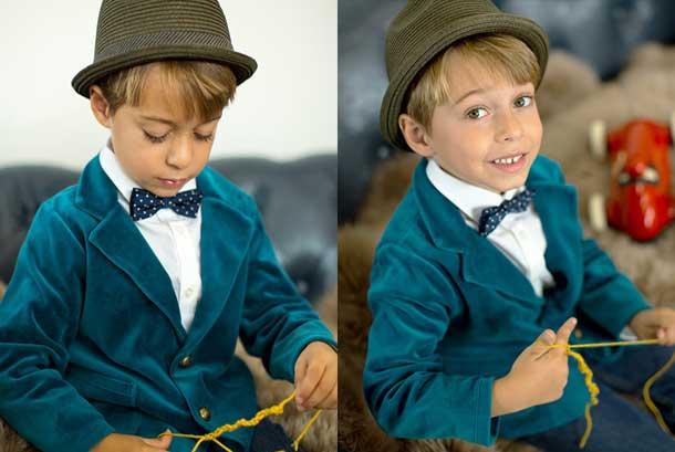 petite bowtie boys suits from la